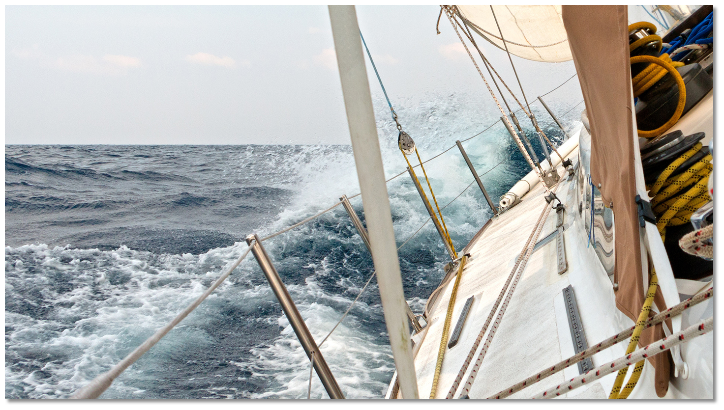 Sailing from Ireland Across the Bay of Biscay