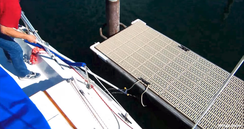 eOceanic - Taking a vessel alongside and holding it