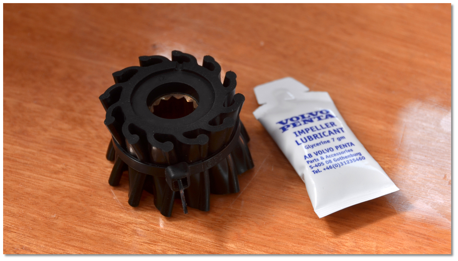 eOceanic - The trick to inserting a new water pump impeller